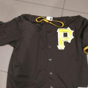Majestic Pittsburgh Pirates #5 Harrison Jersey